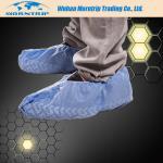 Disposable Non Skid Waterproof Dustproof PP PE CPE Shoe Cover