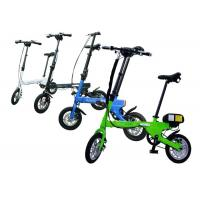 Inflate Tyre Smallest Folding Bike Different Color With Interior Size Adjustable