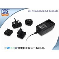 China Wall Mount EU UK US AU Plug 12V 2A 24W AC DC Power Adapter With Indicator Light wholesale