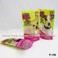 Cheap Printed Stand Up Ziplock Plastic Zipper Bags, Dog Food Bags For Pet Food Packaging wholesale