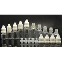 Cheap Customizable clear E Liquid Bottles / e liquid sample pack 5ML 20ML 50ML wholesale