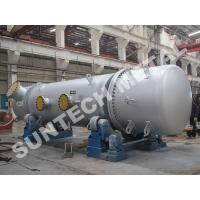 China Stainless Steel 316L Double Tube Sheet Heat Exchanger 25 Tons Weight wholesale