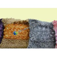 Cheap Fashion Flower Winter Snow Chenille Microfiber Cushion for Reading Book , Office wholesale