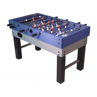 China 5 feet Football game table wood soccer game table with telescopic play rods wholesale