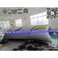 Cheap 0.9mm PVC  Inflatable Water Blob Pillow , Inflatable Water Toys For Lake wholesale