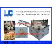 Cheap Crispy Vegetarian / Fruit / Grain Nutrition Bar Making Machine , 100-120kg/h wholesale