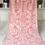 China Customized Elegant Jacquard  Beach Towels wholesale