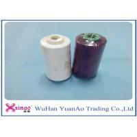China 100% Spun Polyester Yarn 1.33D * 38mm Sewing Thread 40S/2 For Sewing wholesale