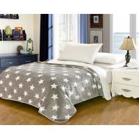China Elegant Home Textile Flannel Fleece Blanket Around 1cm Thickness With ISO9001 Certificated wholesale
