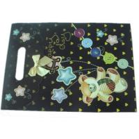 Cheap CYMK Color Gift Wrapping Paper Bag With Die Cut Handle Recycled Paper Bags wholesale