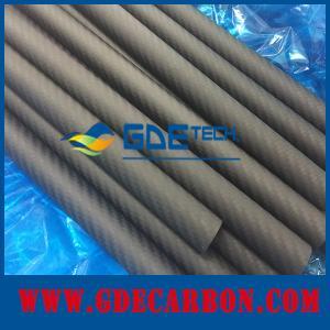 3K Carbon Fiber Tube Diameter Custom Pure Carbon Fiber