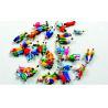 Cheap P150-13C 1:150 HO Architectural Scale Model People Painted Figures 1.3cm wholesale