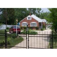 Ornamental Metal Railings Automatic Security Gates Commercial For Courtyard Fence