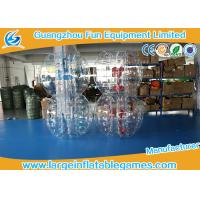 China TPU Inflatable Bubble Ball Customized Size For Amusement Park Play wholesale