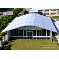China Arch Large White Tent With Glass Wallss And Doors For Elegant multiply Outdoor Events wholesale