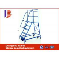 Cheap OEM Single Side Removeable Steel Truck Step Ladder Trolley Corrosion Protection wholesale