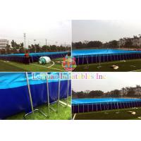 China Durable Custom Inflatable Pool / Large Inflatable Pool Rust Resistant wholesale