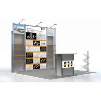 Cheap Modular Trade Show Aluminum Booth , Toy Exhibit Booth Display 10 x 10 wholesale
