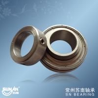 China Stainless Steel 1 Inch Food Machinery Bearing With Lock Collar SSA205-16 wholesale