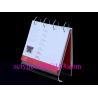 Cheap 2015 Clear Acrylic Business Calendar shelve / Acrylic Calendar Holder wholesale