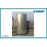 Cheap High Strength Above Ground Storage Tank , Steel Limestone / Lime Cement Silo wholesale