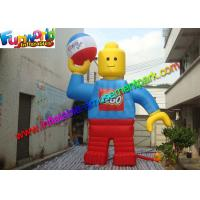 China Customzied 6mh Inflatable Man , Inflatable Robert Toy for Advertising wholesale