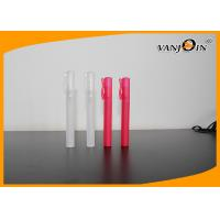 Cheap Colorful PET Cosmetic Bottles Sprayer Pen , 10ml Perfume Pen Spray Bottle wholesale