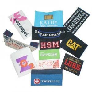 weaving label for garment