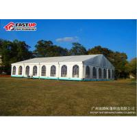 China White Clear Span Wedding Marquee Tent Aluminum Structure Latest Style wholesale