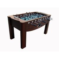 China Chromed Steel Rod Deluxe 5FT Football Table Wooden Soccer Table For Indoor wholesale