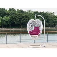 Cheap Fashion Garden Furniture Rattan Hanging Swing Chair , Heart Shape wholesale