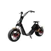 China 1200W 18*9.5 inch 2 Wheel Electric Scooter , Harley two wheeled scooters adults wholesale