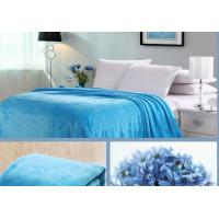 China Softness Knitted Coral Blankets And Throws Customized Weight Good Hand - Feeling wholesale