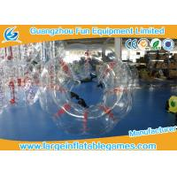 China Heat Sealed Transparent Pvc Inflatable Bubble Ball 2 Years Warranty wholesale