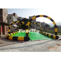 China 0.6mm PVC Tarpaulin Inflatable Sport Games Colorful Used for Zorb Game wholesale