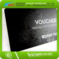 Cheap Good Promotional Products Plastic PVC UV Coating  Business Card wholesale