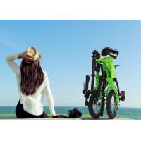 """China Aluminium Alloy Frame Smallest Folding Bike 12"""" Inflate Tyre With Speed Adjustable wholesale"""