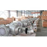 18 Inch API 600 Gate Valve Trim 600lb Ring Type Joint CN7M Body , BW Connect
