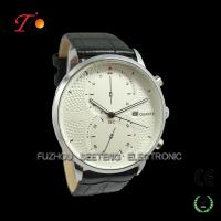 Cheap Genuine Leather Mens Business Watch with Date Calendar wholesale