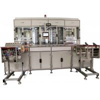 16000 cards / hour business card maker machine , Metal Clad platens plastic card making machine