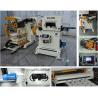4.5mm Decoiler Straightener Feeder 3 In 1 Machine With Yasakwa Servo Motor