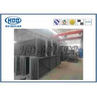 Stainless Steel Exhaust Gas Economizer In Boiler Gilled Tube With Coal Fired