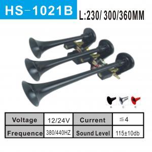 Three Trumpet Chrome Air Horn (HS-1021B)