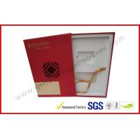 Cheap Square Business Gift Packaging Boxes Drawer Style with EVA Foam Packing wholesale
