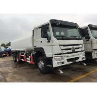 Wholesale Green Water Carrying Water Tanker Truck LHD 6X4 15 - 25CBM Drinking Water Truck from china suppliers