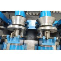 Cheap PLC Control C Z Purlin Roll Forming Machine With Electrical Control Panel wholesale