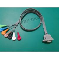 China 15 Pin Connector ECG Patient Cable 1m Length For DMS300-3A Machine wholesale