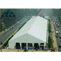 Outdoor Inflatable Roof Cover Trade Show Tents Flexible Poles For All Weather