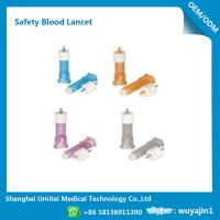 China Pressure Activated Disposable Blood Lancets For Diabetes OEM / ODM Available wholesale