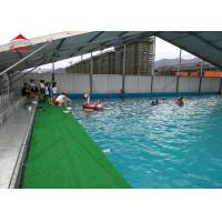 China Large Swimming Pool Tent Powder Coated Steel or Aluminum UV Resistance wholesale